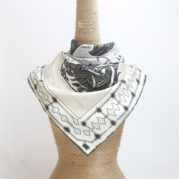 horse print scarf 100 silk from custom scarf manufacturers (2)