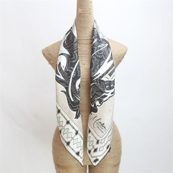 horse print scarf 100 silk from custom scarf manufacturers (3)
