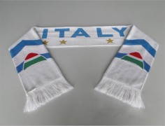 World Cup Promotions Knitted Italy Football Scarf