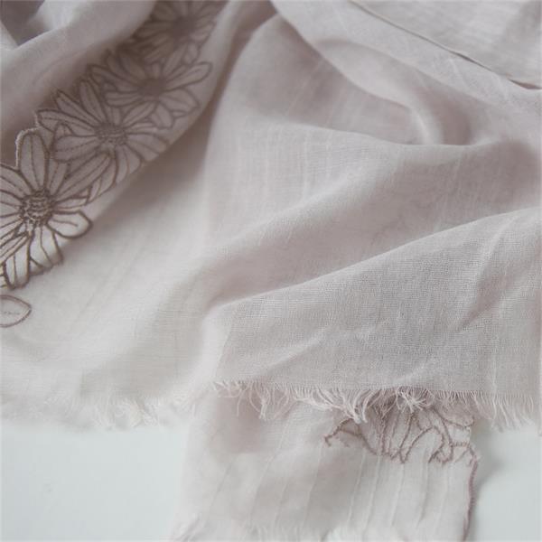 lace cotton linen scarves (3)