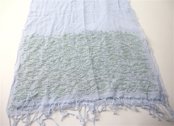 ladies cotton embroidered pashmina shawl (1)
