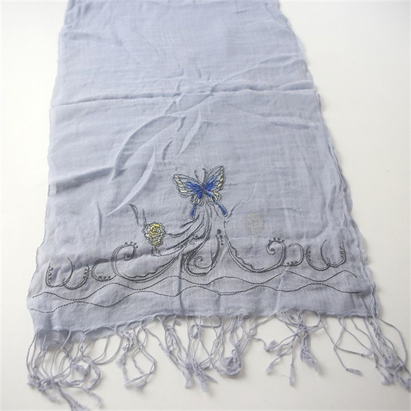 ladies cotton embroidered pashmina shawl (2)