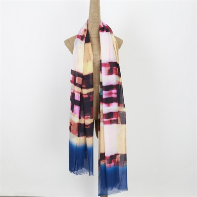 ladies fashion scarves of 100 modal soft touch (3)