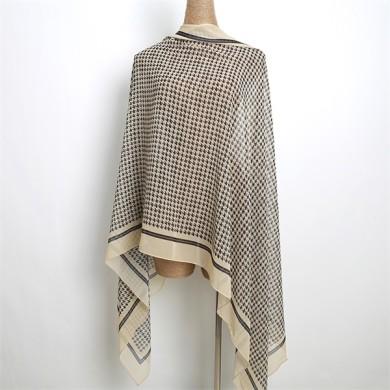 ladies polyester crepe chiffon hijab (3)
