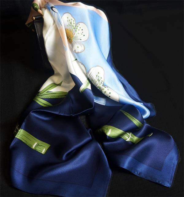 ladies satin silk shawls (7)