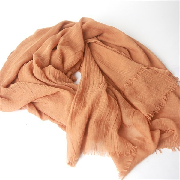 lightweight and fine yarn count mod neck scarf (1)