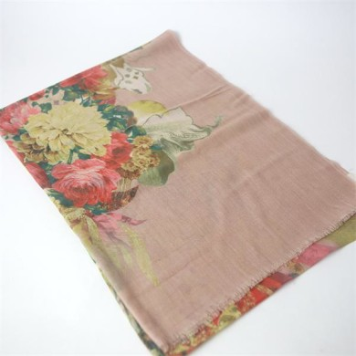 lightweight wool scarf digital printed (1)