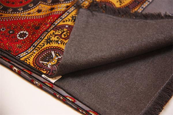mens natural silk scarf for winter (2)