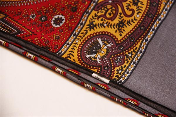 mens natural silk scarf for winter (3)