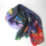 Digital Print High End Modal Cashmere Scarf