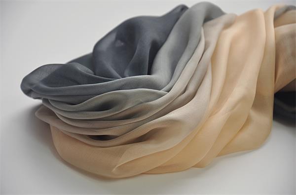 ombre long silk chiffon scarf (5)