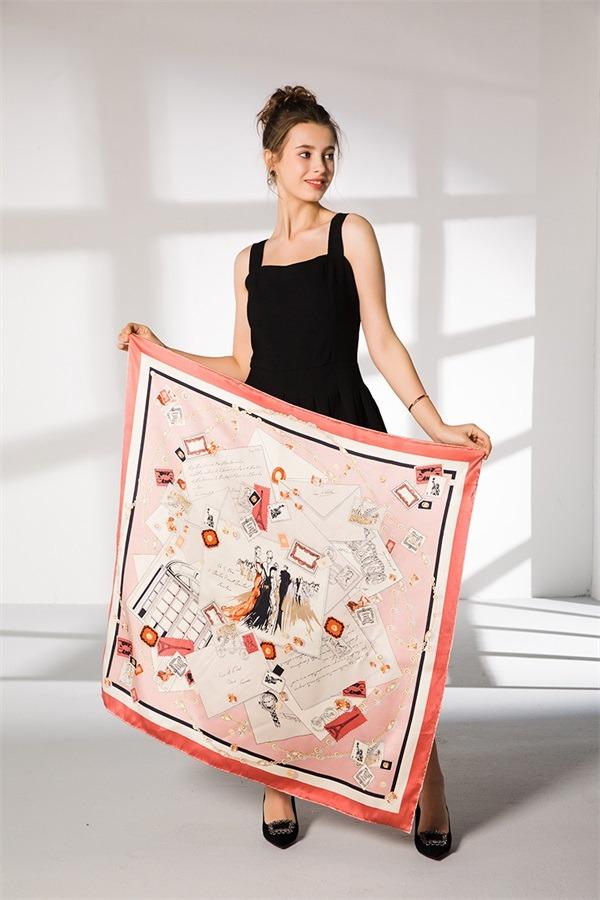 oriental silk scarf (1)