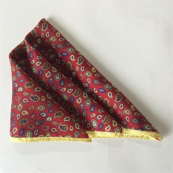 paisley silk hankies pocket square(2)