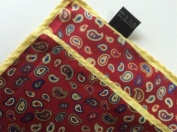 paisley silk hankies pocket square(3)