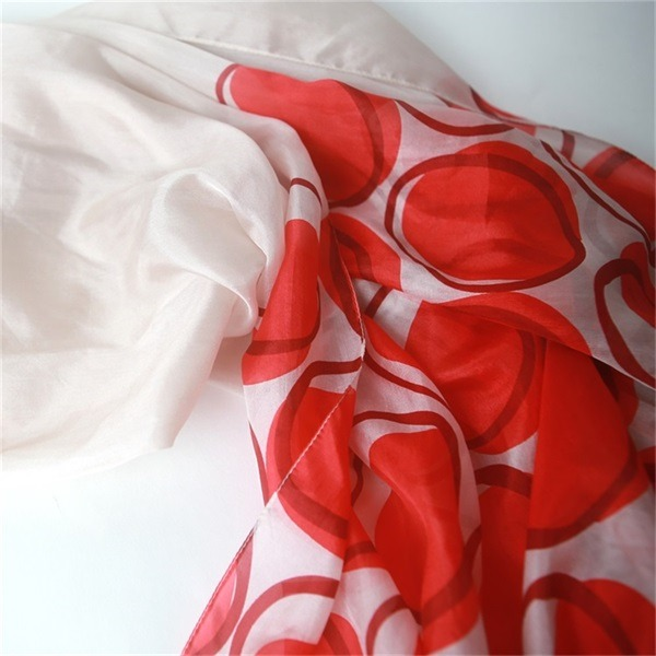 personalized silk scarves,thin silk scarf, (1)