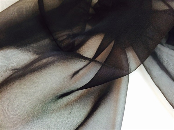 plain black silk scarf (1)