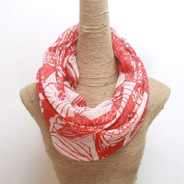 promotional cheap polyester scarves 1 dollar gifts (2)