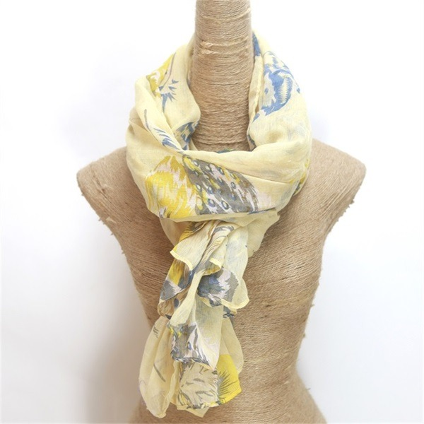 promotional cheap polyester scarves 1 dollar gifts (4)