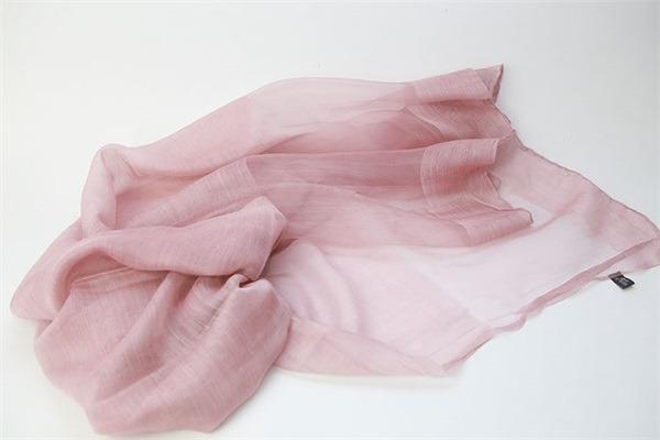 raw silk scarf shawl solid dyed silk wool mixed (6)