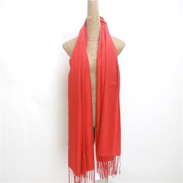 red 100 viscose scarf (2)