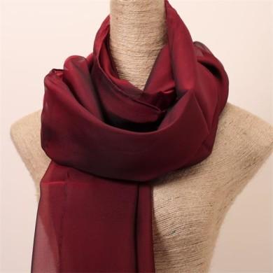 red black silk scarf malaysia silk hijab (3)