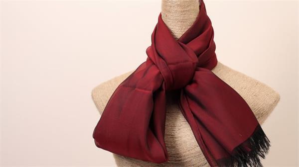 red black silk scarf malaysia silk hijab (4)