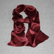 Vogue Elegant Red Silk Shawl