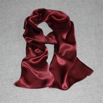 Vogue Elegant Red Silk Shawl