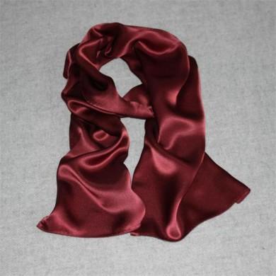 red pure silk shawls (2)