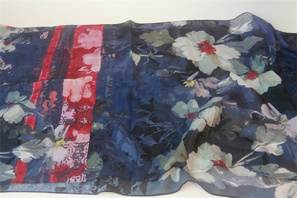 silk and cotton scarf (1)