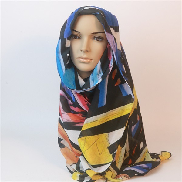 silk and cotton scarf (3)