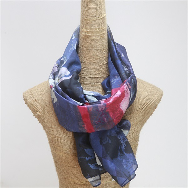 silk and cotton scarf (5)