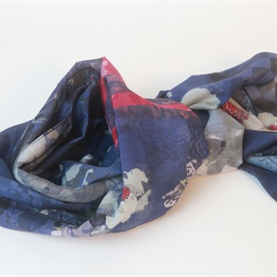 silk and cotton scarf (6)