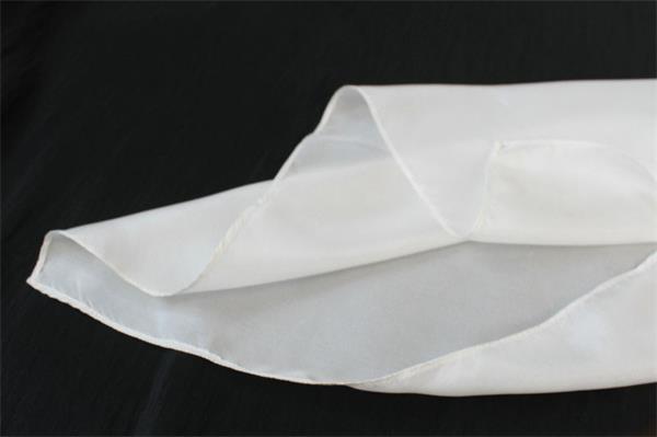 silk habotai white silk scarf (1)