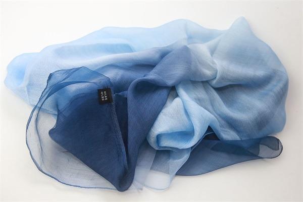 silk organza scarf mixed with wool (1)