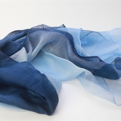 silk organza scarf mixed with wool (3)