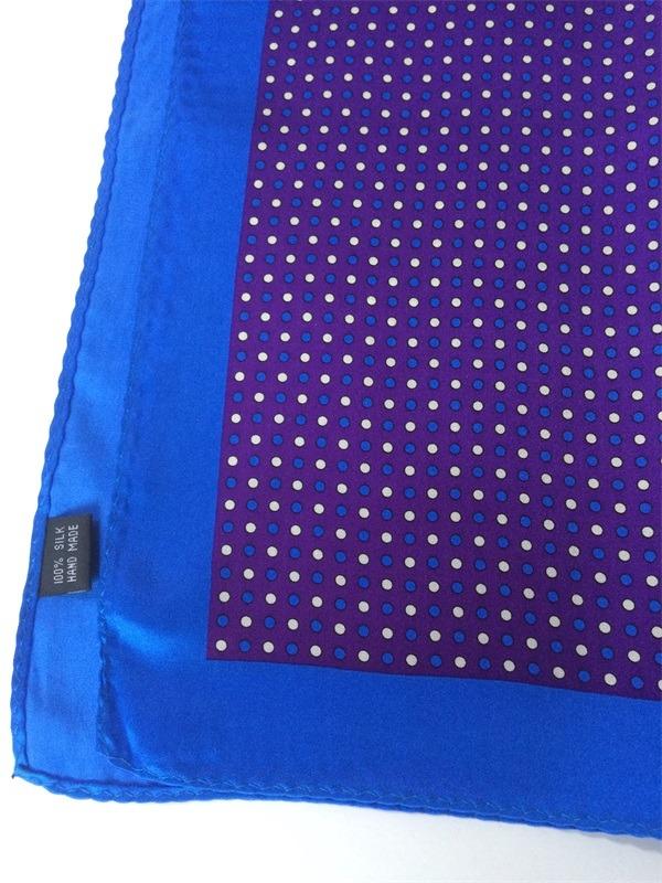 silk pocket square dot printed (1)