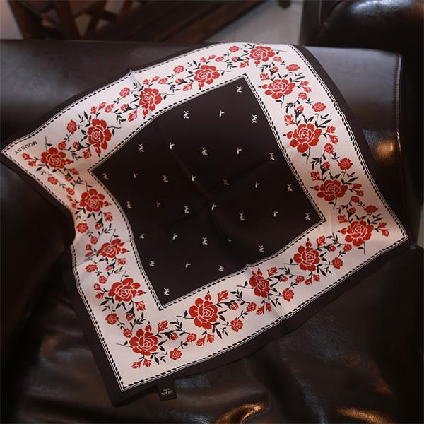 small square japanese silk scarf(2)