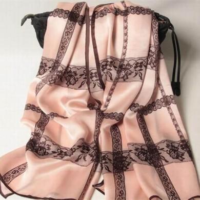 spring printed silk shawl wrap (3)