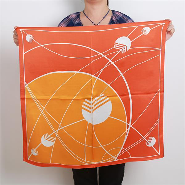 square satin silk scarf for scarf buyer (2)