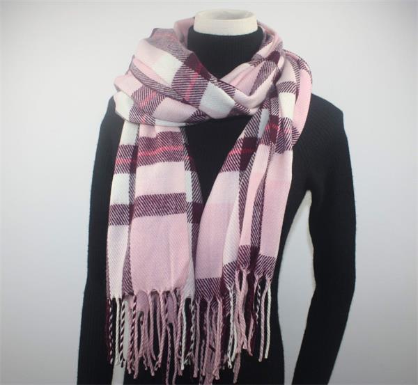tartan plaid blanket scarf shawl (2)