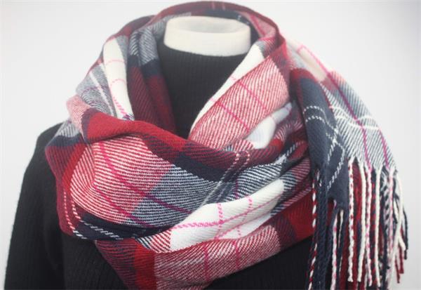 tartan plaid blanket scarf shawl (3)