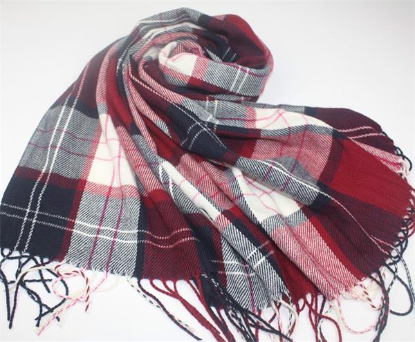 tartan plaid blanket scarf shawl (4)