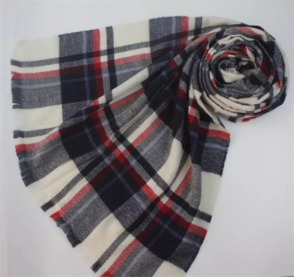 tartan plaid blanket scarf shawl (5)