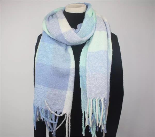 tartan plaid blanket scarf shawl (6)