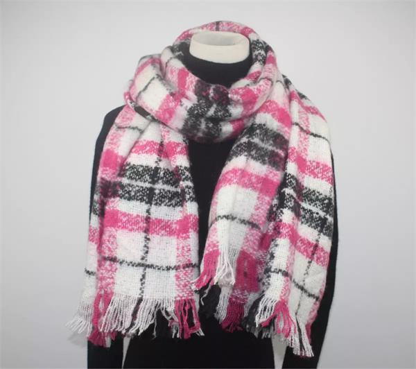tartan plaid blanket scarf shawl (7)