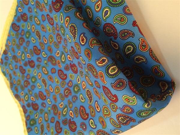 vintage paisley silk handkerchief (3)