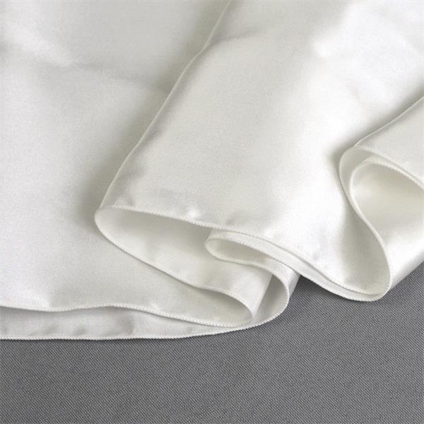 white silk charmeuse satin scarf (1)