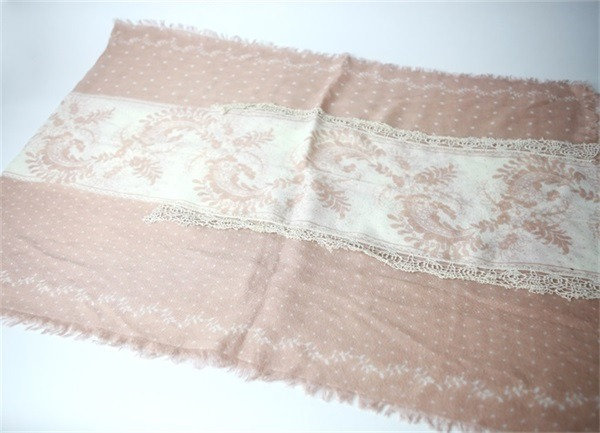 winter acrylic wool scarf (2)