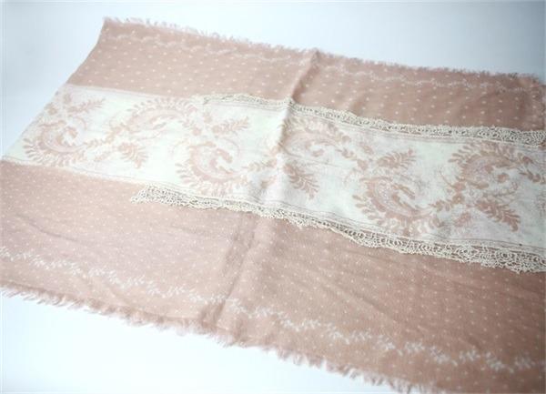 winter acrylic wool scarf (2)